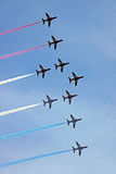 raf βελών πολεμικής αεροπ&omicr Στοκ Εικόνα