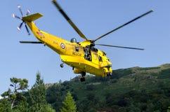 RAF ελικόπτερο βασιλιάδων θάλασσας στοκ εικόνες