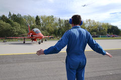 RAF - κόκκινα βέλη Στοκ εικόνα με δικαίωμα ελεύθερης χρήσης