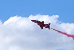 RAF κόκκινο βέλος Στοκ Φωτογραφίες