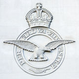 RAF μνημείο εντολής βομβαρδιστικών αεροπλάνων - Λονδίνο - Αγγλία Στοκ φωτογραφία με δικαίωμα ελεύθερης χρήσης