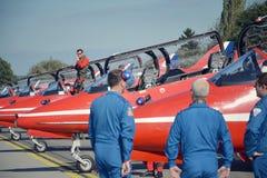 RAF Aerobatic-Flächen Lizenzfreies Stockfoto