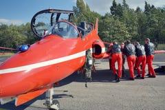 RAF Aerobatic-Flächen Stockfotografie