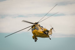 RAF Air Sea rescue helicopter Royalty Free Stock Image