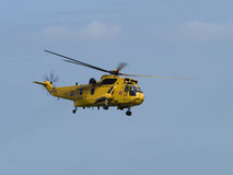 RAF Air Sea Rescue, Sea King, helicopter Royalty Free Stock Photo