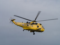 RAF Air Sea Rescue, Sea King, helicopter Royalty Free Stock Image