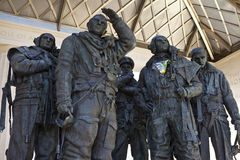 RAF Bomber Command Memorial in London Stock Images