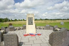 RAF boy memorial. Royalty Free Stock Photos
