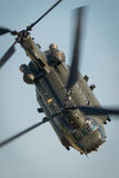RAF Chinook helicopter Royalty Free Stock Image