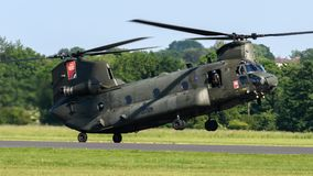 RAF Chinook Helicopter Royalty Free Stock Photos