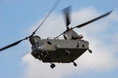 RAF Chinook på RIAT Royaltyfri Bild