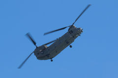 RAF Chinook in Wales Nationale Airshow, Swansea Stock Foto
