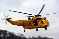 RAF Dennego królewiątka helikopter Zdjęcia Stock