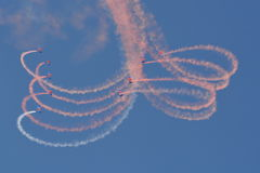 RAF Falcons Fotografia Stock Libera da Diritti