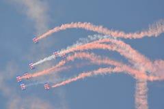 RAF Falcons Royalty-vrije Stock Afbeeldingen