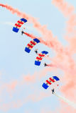 The RAF Falcons Royalty Free Stock Image
