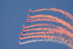 RAF Falcons Stock Photo
