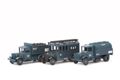 RAF Ground Crew Support Vehicles Royalty Free Stock Images