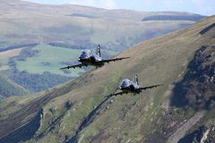 RAF Hawk Pair stock images