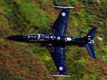 RAF Hawk T2 Arkivfoto