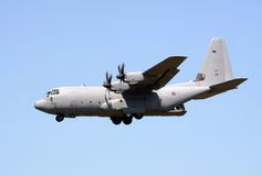 RAF Hercules transport aircraft Royalty Free Stock Images