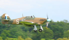 RAF Hurricane Foto de Stock Royalty Free