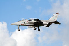 RAF Jaguar royalty free stock image