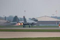 RAF Lakenheath F-15 U.S.A.F. spritzen Stockfoto
