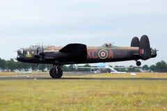 RAF Lancaster Royalty Free Stock Photo