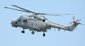 RAF Lynx Helicopter Fotografie Stock