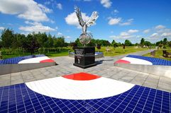 RAF Memorial, Alrewas. Stock Photos