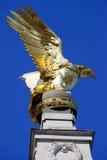 RAF Memorial em Victoria Embankment em Londres fotografia de stock royalty free