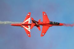 RAF Red Arrows Fotos de Stock