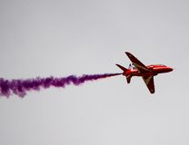 RAF Red Arrows Fotografia Stock