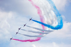 RAF Red Arrows Photo stock