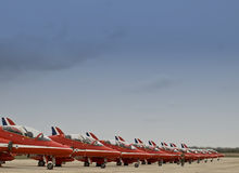 RAF Red Arrows Stock Images