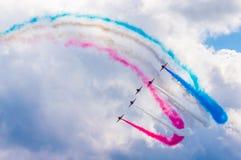 RAF Red Arrows Air Display Team Stock Photos