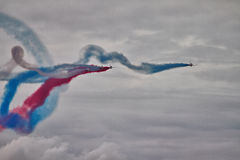 RAF Red Arrows Display Team Fotografia de Stock Royalty Free