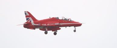 RAF Red Arrows Display Team Stockbilder