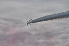 RAF Red Arrows Display Team Image stock