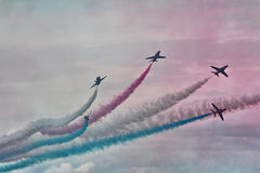 RAF Red Arrows Display Team Stock Foto