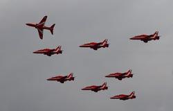 RAF Red Arrows Display Team Stock Photo