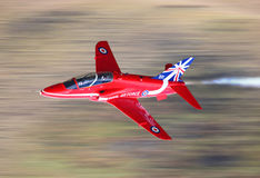 RAF Red Arrows jet Stock Photography