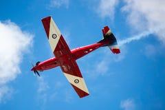 RAF Red Arrows Performing uma mostra Imagem de Stock Royalty Free