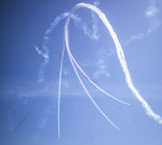 RAF Red Arrows, Portsmouth Image libre de droits