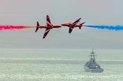 RAF Red Arrows Team Fotos de Stock