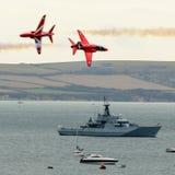 RAF Red Arrows Team Fotos de Stock Royalty Free
