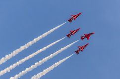 RAF Red Arrows Team Fotografia de Stock