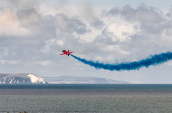 RAF Red Arrows Team Imagem de Stock