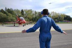 RAF - Rote Pfeile Lizenzfreies Stockbild